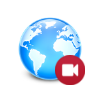 Browser screen recorder