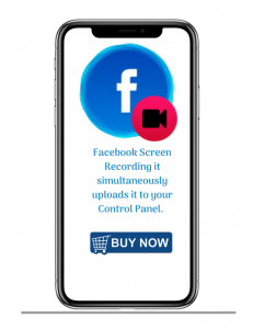 Facebook screen recording
