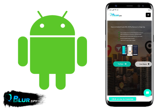 BlurSPY Android spy software